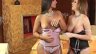 Lesbian lingerie, Eve angel, Lesbian seduction