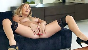 Open pussy, Dripping, Legs solo, Twistys solo, Pornstar solo, Solo stocking