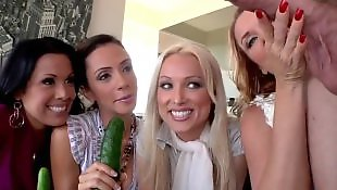 Group masturbation, Doll, Sienna west