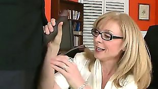 Nina hartley, Milf interracial