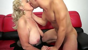 Granny, Mature, Mature blowjob, Step, Granny fuck, Short hair