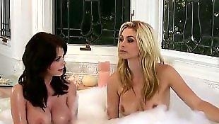 Busty lesbians, Lesbian nipples