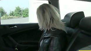 Taxi, British, Amateur pov, Faketaxi, Tricked, Pov blonde