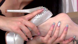 Lesbians stockings, Nylons, Ddf network, Lesbian foot, Ddf lesbian, Nylon feet