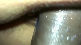 Close up, Creamy pussy, Hairy close up, Latin, Pussy close up, Dick