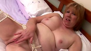 Granny dildo, Granny, Dirty, Mom, British mature, Toy