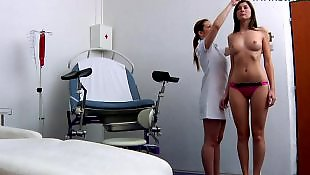 Double, Gyno, Gaping, Anal dildo, Gyno exam, Czech