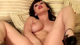 Big tits solo, Solo hd, Spreading, Rubber, Jennifer white