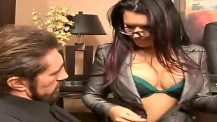 Secretary, Eva angelina, Boss