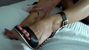 Swingers, Foot fetish, Shoes, Swinger, Milf, Shoe