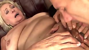 Granny, Mature blowjob, Mature, Granny handjob, Mature handjob, Young handjob