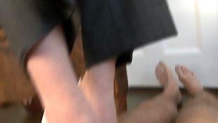 Foot, Pov handjob, Foot fetish, Mistress, Hand job, Hand