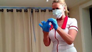 Nurse, Nurse handjob, Upskirt, Private