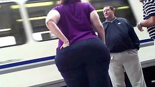 Bbw, Bbw mature, Chubby ass, Ass, Voyeur, Chubby