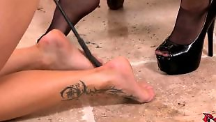 Slave, Lesbian heels, Lesbian domination, Leggings, Legs, Lesbian slave