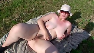 Chubby, Amateur, Outdoor, Bbw, Hairy, Hairy bbw