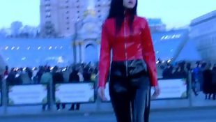Leggings, Public, Latex, Dress, Nudist