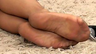 Mature, Foot fetish, Stockings, Stocking, Foot, Mature stockings