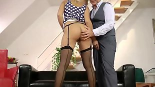 Young stockings, Jerk, British stockings