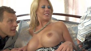 Mom, Mature, Busty mom, Mature double