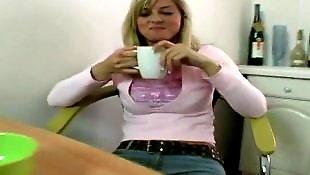Cute blonde, Thomas, Silvie thomas, Silvie anal, Show sexi, Show lingerie