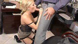 High heels, Stockings fuck, Secretary, Boss, Donna bell