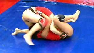 Teen lesbian, Lesbian fight
