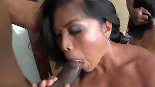 Rough, Close up blowjob, Throat fuck, Asian black