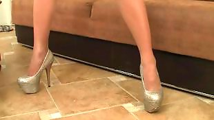 Pantyhose, Pantyhose masturbation, Teen pantyhose, Shoes, Voyeur, Pantyhose teen