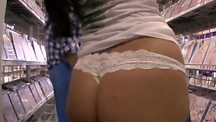 Ava addams, Asshole closeup, Ass spreading, Milf strip