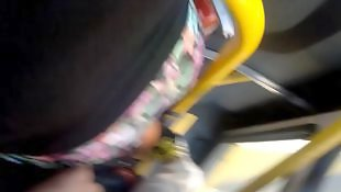 Bus, Flashing, Flash, Touch, Voyeur