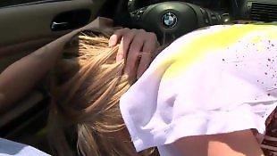 Молодые глубокие глотки, Порно с автомобилем, Порно в автомобиле