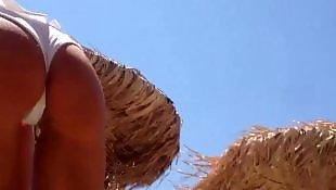 Voyeur, Beach voyeur, Voyeur beach, Teen, Beach, Voyuer