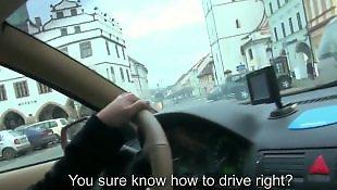 Таксист, Минет нескольким, Мастурбирует и сосет, Порно для мастурбации, Отсосала всем