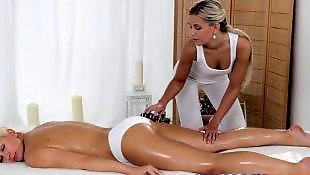 Massage, Massage room, Lesbian massage, Lesbian fingering, Lesbians, Young lesbians