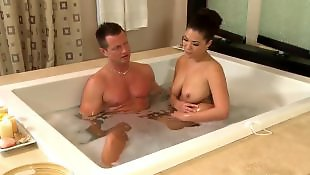 Orgasm, Romantic, Jerk off, London keyes, Busty orgasm, Teasing handjob