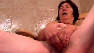 Granny masturbating, Hairy pussy masturbation, Hairy dildo, Granny dildo, Hairy, Granny masturbation
