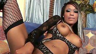 Stockings solo, Ebony pussy, Ebony solo, Ebony stockings, Ebony dildo, Solo ebony