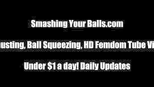 Spanking, Spank, Balls, Begging, Ball busting