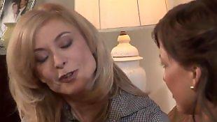 Mature lesbian, Milf lesbian, Older, Housewife, Nina hartley, Mature
