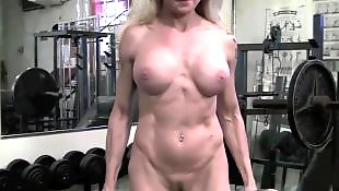 Gym, Mature, Muscle