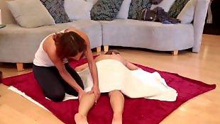 Son massage, Massage sexy lesbienne