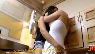 Lesbians kissing, Brazilian, Lesbian hot, Party, Lesbian kissing, Kissing