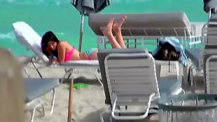 Sunbathing, Beach, Romance