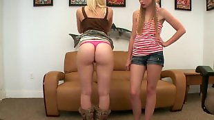 Casting teen, Casting, Lesbian casting, Teen casting, White panties, Casting lesbian