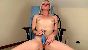 Amateur masturbation, Tattoo, Amateur dildo