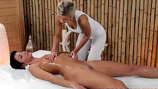 Leggings, Massage room, Massage, Legs, Oil, Babes