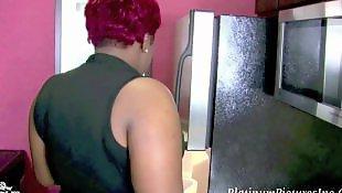 Ebony anal