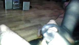 Amateur, Pantyhose footjob, Stockings footjob, Amateur stockings, Stockings, Stocking footjob