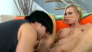 Mistress, Milf boy, Young boy, Milf and boy, Amber lynn